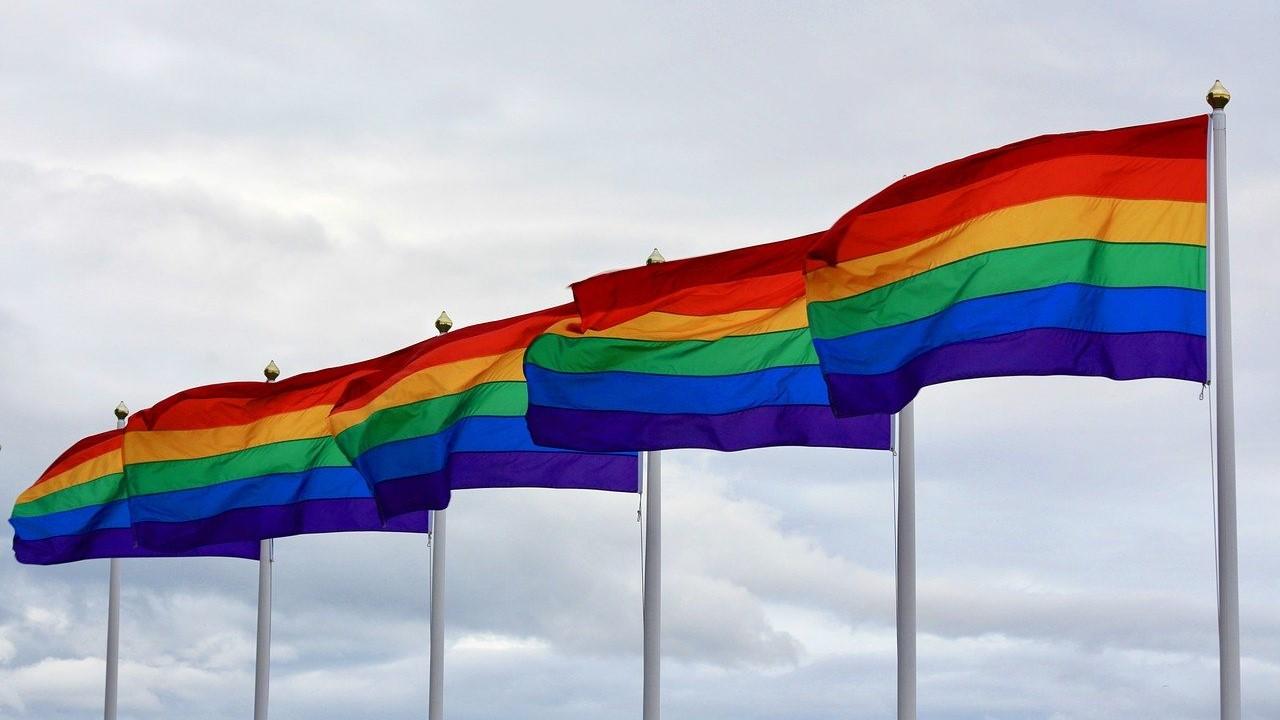 Queer Regenbogenfahne